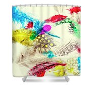 Abstract Softness Shower Curtain