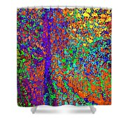 Abstract Visions I Shower Curtain