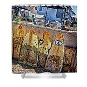 Acacia Street Shower Curtain