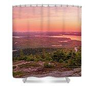Acadia National Park Sunrise  Shower Curtain