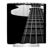 Acoustic Guitar Musician Player Metal Rock Music Lead Shower Curtain