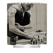 Action Taken Now Shower Curtain