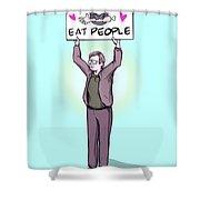 Activist Jeffrey Shower Curtain