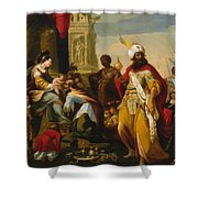 Adoration Of The Magi 1624 Shower Curtain