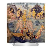 Adventures Of Ulysses, Detail Shower Curtain