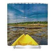 Adventurous Kayak In Maine Shower Curtain