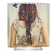 Affection Shower Curtain