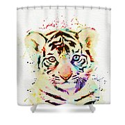 African Animal Shower Curtain