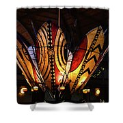 African Shields At Ak Lodge Shower Curtain