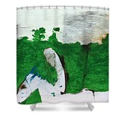 After Battle Shower Curtain