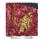 After Billy Childish Painting Otd 7 Shower Curtain