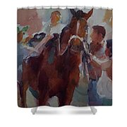 After Race Shower Curtain