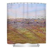 After The Harvest Shower Curtain