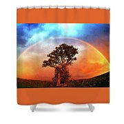 After The Storm, California Foothills                        Shower Curtain