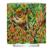 Afternoon Feast Shower Curtain