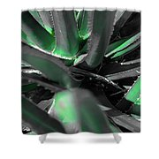 Agave Lechuguilla Color Shower Curtain