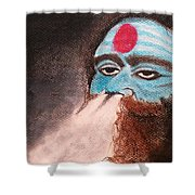 Aghori  Shower Curtain