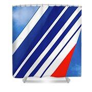 Air France 777 1 Shower Curtain