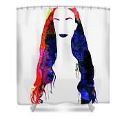Alanis Watercolor II Shower Curtain