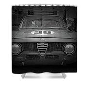 Alfa Laguna Seca Shower Curtain