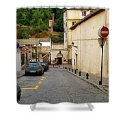 Alhambra, Spain  Shower Curtain