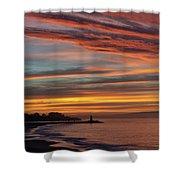 All Saints Day Sunrise Shower Curtain