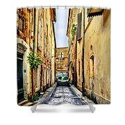 Alley In Avignon Shower Curtain