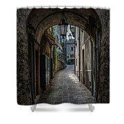 Alleys Of San Marino Shower Curtain