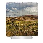 Along The Scottish Highlands Shower Curtain