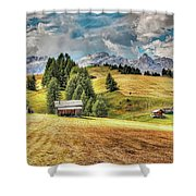 Alpine Beauty Shower Curtain