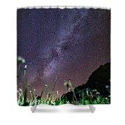 Alpine Milky Way Shower Curtain