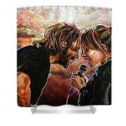 Always Remember Us This Way Shower Curtain