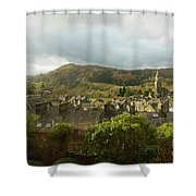 Ambleside Rooftops In The Lake District National Park Shower Curtain