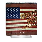 American Coyote Ugly Shower Curtain