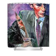 American Psycho Painting Shower Curtain