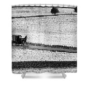Amish Country Lancaster Pennsylvania Bw Shower Curtain