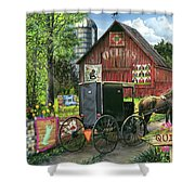 Amish Quilts Shower Curtain