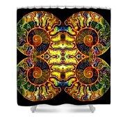 Ammonite Mandela - 044.1 Shower Curtain