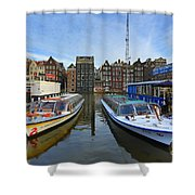 Amsterdam Central Shower Curtain