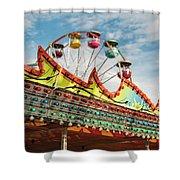 Amusement Park Fun Shower Curtain