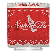 An Ice Cold Nuka Cola - Fallout Universe Shower Curtain