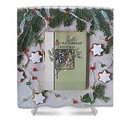 An Old Fashioned Christmas Shower Curtain by Kim Hojnacki