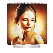 Anastasia Portrait Shower Curtain