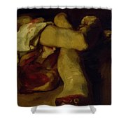 Anatomical Pieces Shower Curtain
