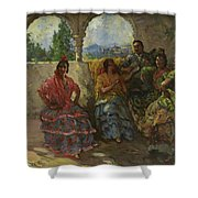 Andalucian Dancers  Shower Curtain