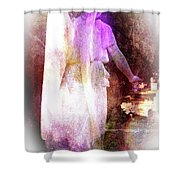 Angel Ethereal Shower Curtain