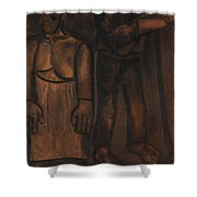 Angelus  Shower Curtain