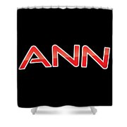 Ann Shower Curtain