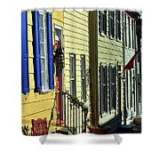 Annapolis Row Shower Curtain