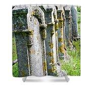 Annapolis Royal Gravestones Shower Curtain
